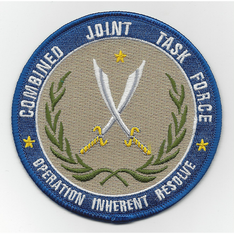 Combined Joint Task Force Operation Inherent Resolve Iraq Patch