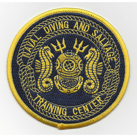 Naval Diving & Salvage Training Center Panama City Florida Patch