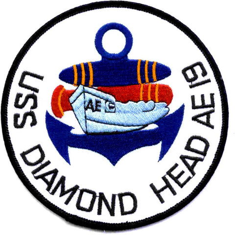 AE-19 USS Diamond Head Patch