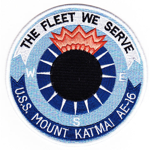 AE-16 USS Mount Katmai Patch
