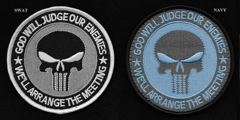 God Will Judge Our Enemies Punisher Patch