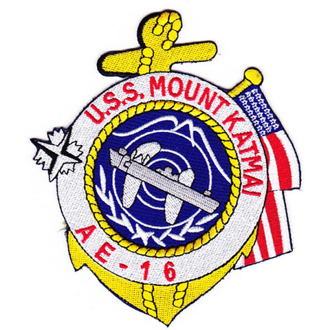 AE-16 USS Mount Katmai Patch - B Version