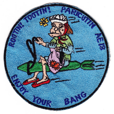 AE-18 USS Paricutin Patch - B Version