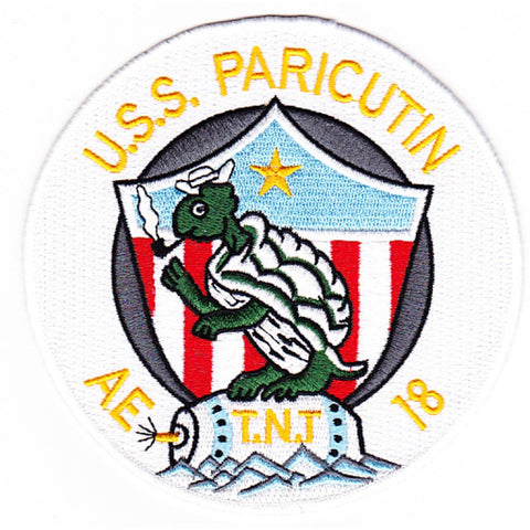AE-18 USS Paricutin Patch