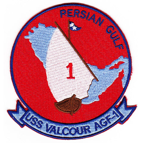 AGF-1 USS Valcour Patch - Version A