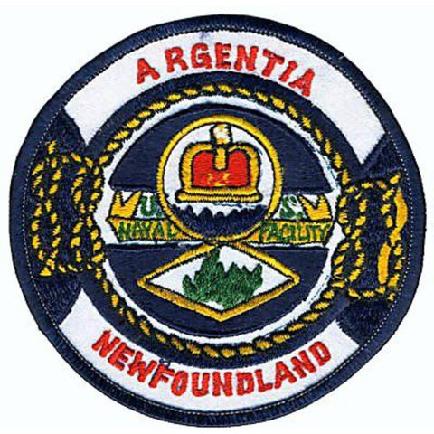 NAF Argentia Field Newfoundland And Labrador Naval Facility Patch