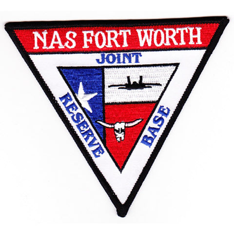 NAS Fort Worth Texas Naval Air Station Patch