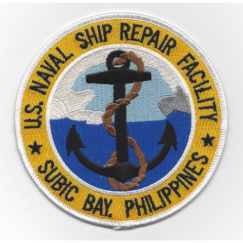 Naval Ship Repair Facility Subic Bay Philippines Patch