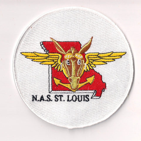 NAS St. Louis Missouri Naval Air Station Patch