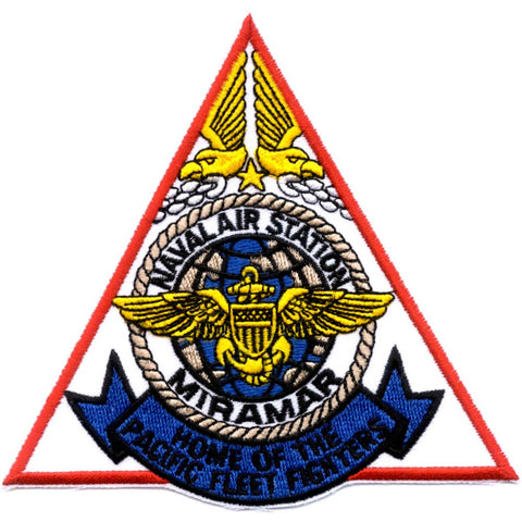 NAS Miramar CA Naval Air Station Patch