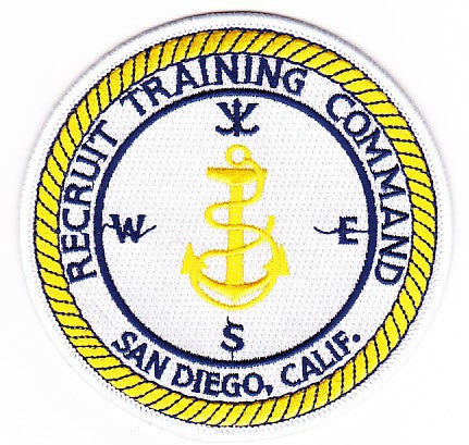 RTC - Recruit Training Command San Diego, California Patch