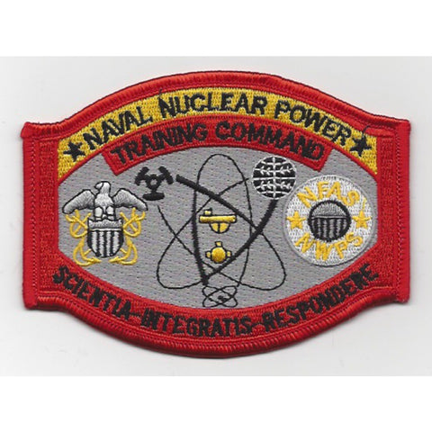 Naval Nuclear Power Training Goose Creek SC Patch