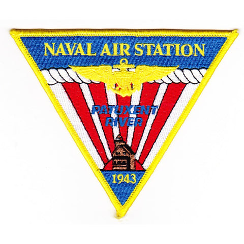 NAS Patuxent River Maryland Naval Air Station Patch - A Version