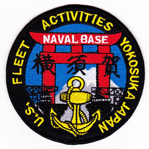 US Fleet Activities Yokosuka Japan Naval Base Patch