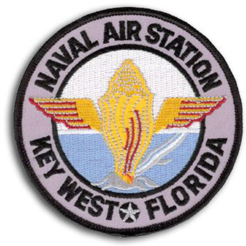 NAS Key West Florida Naval Air Station Patch - Color