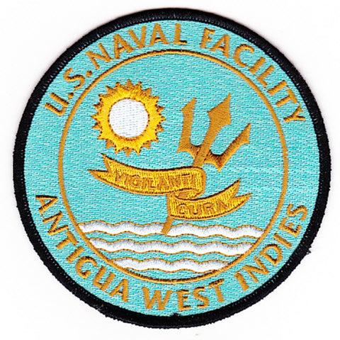 NAF Antigua West Indies Caribbean Naval Facility Patch