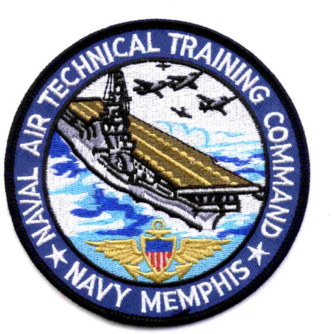 NATTC - Naval Air Technical Training Center Memphis Tennessee Patch - Version A