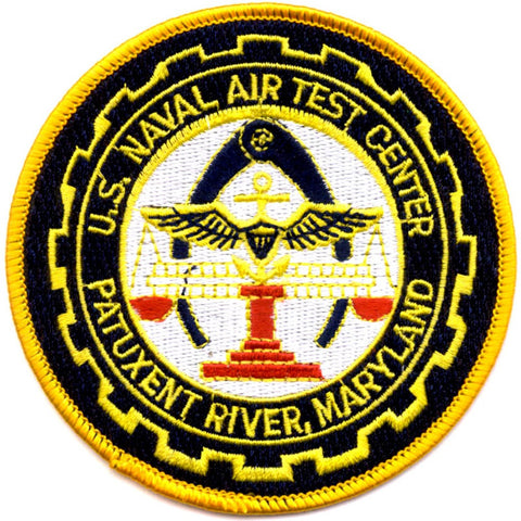 Naval Air Test Center Patuxent River Maryland Patch