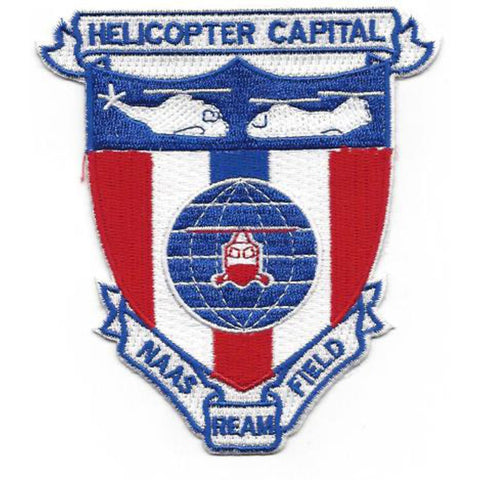 NAAS - Ream Field Imperial Beach California Naval Auxiliary Air Station Patch
