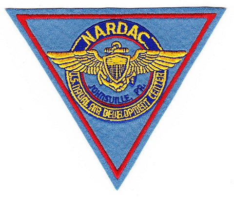 NARDAC - Johnsville, Pennsylvania Naval Air Development Center Patch