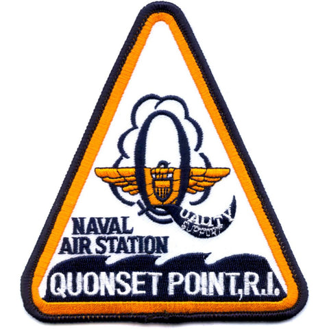 NAS Quonset Point Rhode Island Naval Air Station Patch