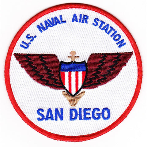 NAS San Diego California Naval Air Station Patch