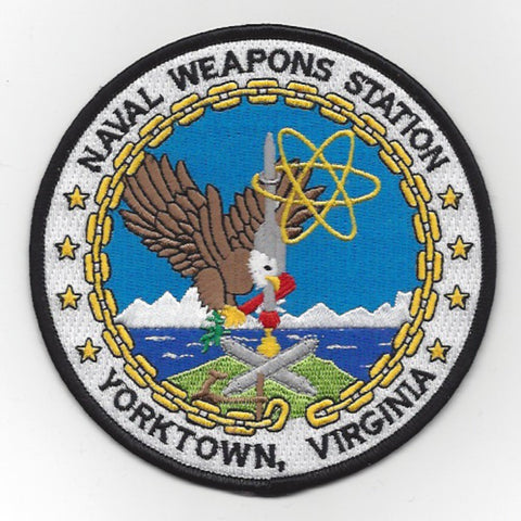 Naval Weapons Station Yorktown Virginia Patch