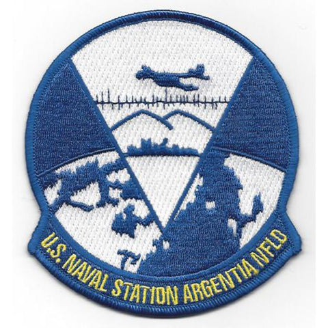 Naval Station Argentia Newfoundland Patch - Version B