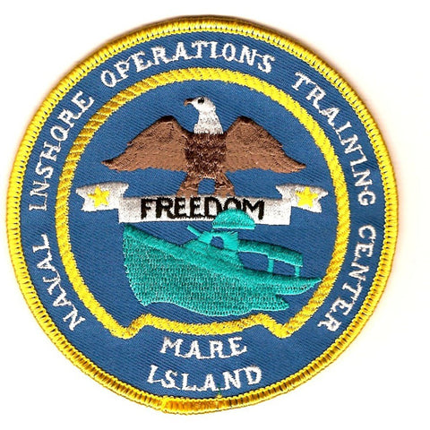 Naval Inshore Operations Training Center Mare Island California Patch