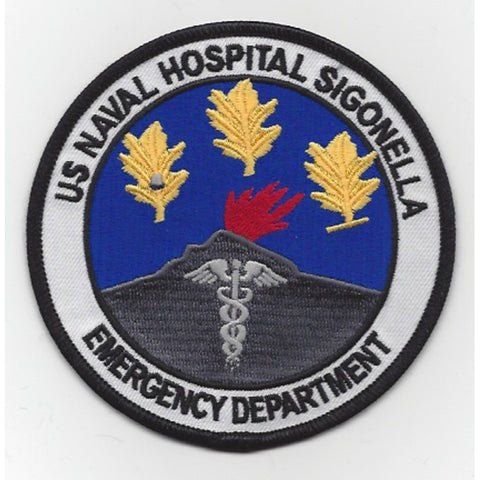 Naval Hospital Sigonella Sicily Italy Patch