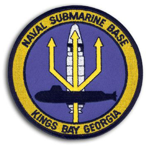 Naval Submarine Base Kings Bay Georgia Patch