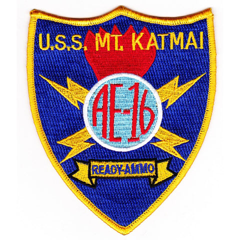 AE-16 USS Mount Katmai Patch - A Version