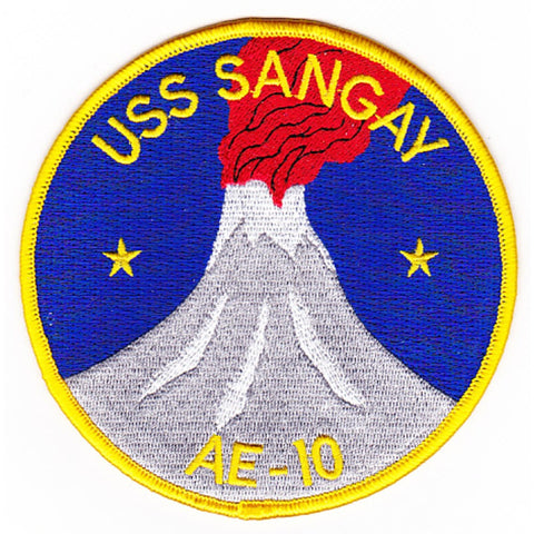 AE-10 USS Sangay Patch