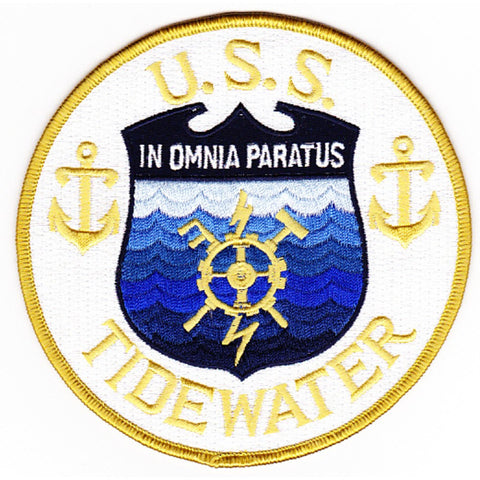 AD-31 USS Tidewater Patch