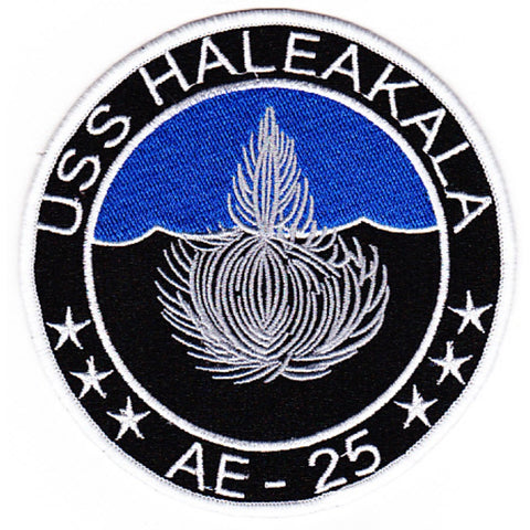 AE-25 USS Haleakala Ammunitions Ship Patch