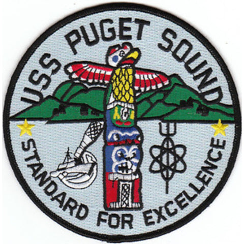 AD-38 USS Puget Sound Patch