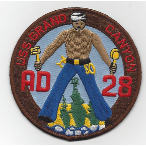 AD-28 USS Grand Canyon Patch