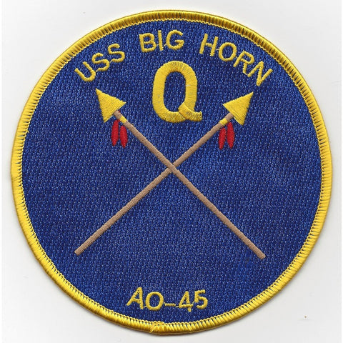 AO-45 USS Big Horn Patch