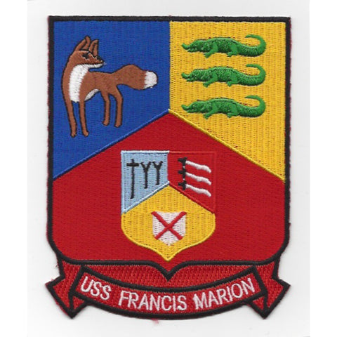 APA-249 USS Francis Marion Patch