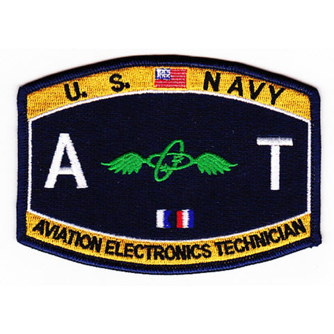 AT - Aviation Electronics Technician Navy Rating Patch