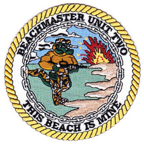 BMU 2 - Beachmaster Unit Two Patch This Beach is Mine