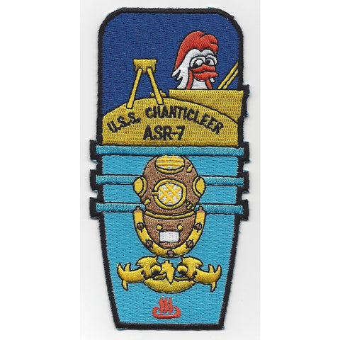 ASR-7 USS Chanticleer Patch - A Version