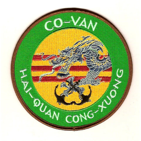 CO-VAN HAI-QUAN CONG-XUONG Naval Shipyard Transitioning To The State of Vietman Patch