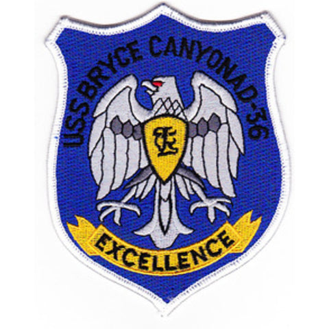 AD-36 USS Bryce Canyon Patch
