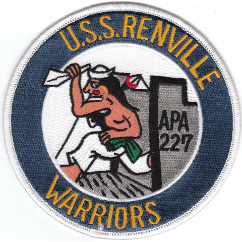 APA-227 USS Renville Patch