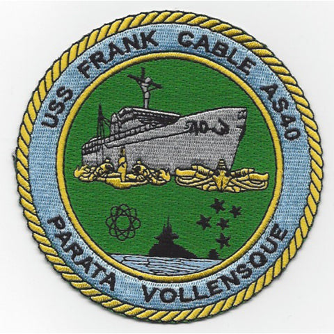 AS-40 USS Frank Cable Patch