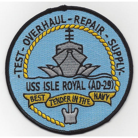 AD-29 USS Isle Royal Patch