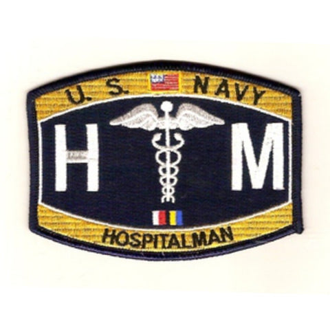 HM - Hospitalman Navy Rating Patch