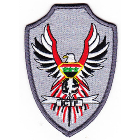 United States Navy IRAQI COASTAL TASK FORCE Military Patch