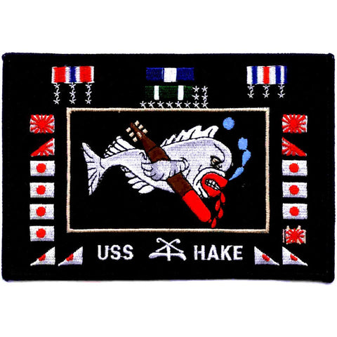 SS-256 USS HAKE SUBMARINE PATCH